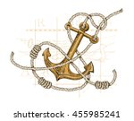 Vector Illustration Of Anchor ...
