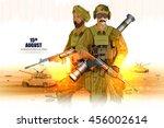 easy to edit vector... | Shutterstock .eps vector #456002614