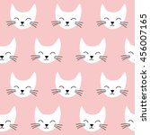 seamless vector pattern with... | Shutterstock .eps vector #456007165