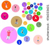 isolated  colorful idea    Shutterstock . vector #456033601