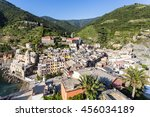 vernazza is one of the idyllic... | Shutterstock . vector #456034189