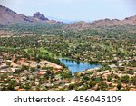 Aerial View From Scottsdale To...