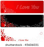 beautiful valentine's day... | Shutterstock . vector #45606031