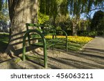 Iron Bench In Laleh Park ...