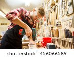 profession  people  carpentry ... | Shutterstock . vector #456066589