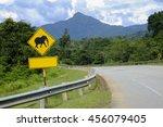 Animal Sign A Road Sign Beware...