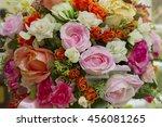 flower set for wedding are... | Shutterstock . vector #456081265