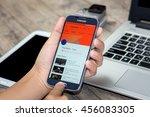 chiang mai thailand   july 21 ... | Shutterstock . vector #456083305