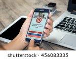 chiang mai thailand   july 21 ... | Shutterstock . vector #456083335