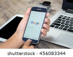 chiang mai thailand   july 21 ...   Shutterstock . vector #456083344