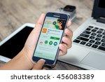 chiang mai thailand   july 21 ... | Shutterstock . vector #456083389