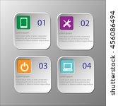 modern design template of... | Shutterstock .eps vector #456086494