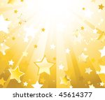 light gold background with...