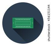 american football field mark...