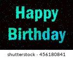 nice illustration for happy... | Shutterstock . vector #456180841
