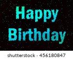 nice illustration for happy... | Shutterstock . vector #456180847