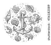 Set Coral  Crab  Shrimp  Sea...
