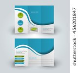 brochure mock up design... | Shutterstock .eps vector #456201847