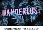 adventure explore discover... | Shutterstock . vector #456216319