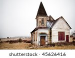 Abandoned Rural Church In...