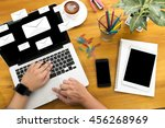mail  text on message online... | Shutterstock . vector #456268969