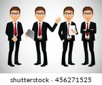 businessman | Shutterstock .eps vector #456271525