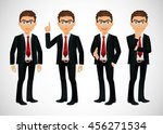 businessman | Shutterstock .eps vector #456271534