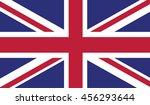 united kingdom flag | Shutterstock .eps vector #456293644