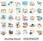 creative process conceptual... | Shutterstock .eps vector #456296029