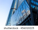 windows of business building  | Shutterstock . vector #456310225