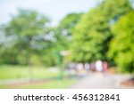 abstract blur people in city... | Shutterstock . vector #456312841