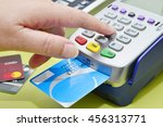 credit card payment  buy and... | Shutterstock . vector #456313771