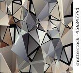 randomly scattered triangles of ...   Shutterstock .eps vector #456347791