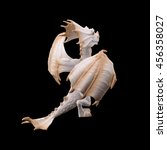 dragon figurine | Shutterstock . vector #456358027