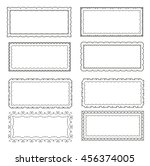 frames vintage | Shutterstock .eps vector #456374005