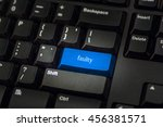 close up view on conceptual... | Shutterstock . vector #456381571