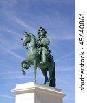 Statue Of Louis Xiv  Sun King...