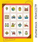 icon set toy vector   Shutterstock .eps vector #456412279