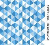 triangle seamless pattern... | Shutterstock .eps vector #456433669