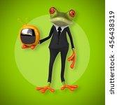 fun frog | Shutterstock . vector #456438319