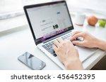 office space | Shutterstock . vector #456452395