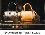 Woman Handbag In A Showcase Of...