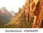 cathedral mountain | Shutterstock . vector #45646690