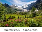 Amazing Panorama Of French Alp...