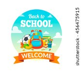 school supplies and greeting