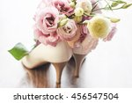 White Wedding Shoes And Wedding ...