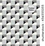 vector pattern. modern stylish...   Shutterstock .eps vector #456555355