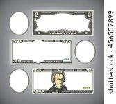 stylized money with plenty of...   Shutterstock .eps vector #456557899