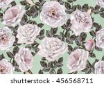 pattern  seamless. old style.... | Shutterstock . vector #456568711
