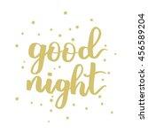 vector hand written lettering... | Shutterstock .eps vector #456589204